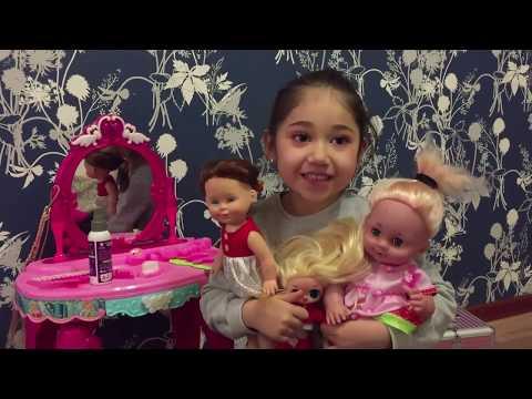 Куклы в гостях у Аян #детские #игры #куклы