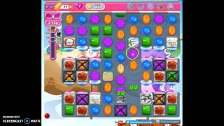 Candy Crush Level 1633 help w/audio tips, hints, tricks