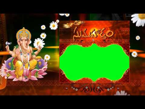 Wedding Video Background Green Screen Animated Effects HD thumbnail