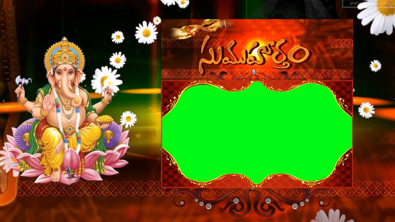 Wedding Video Background Green Screen Animated Effects Hd Youtube
