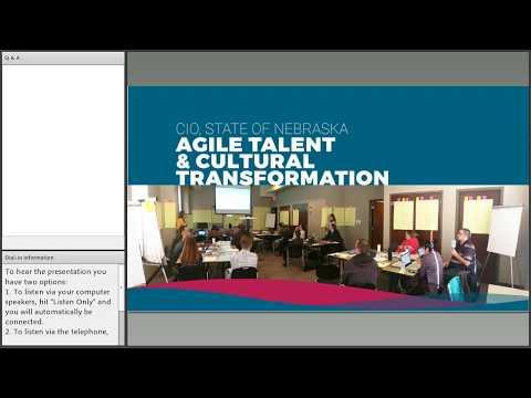 Let's Talk  Nebraska's Adoption of Agile Methodology for Agency Success