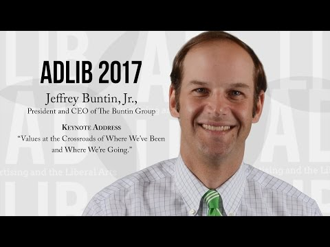 ADLIB 2017 - Keynote with Jeffrey Buntin, Jr., President and CEO of The Buntin Group