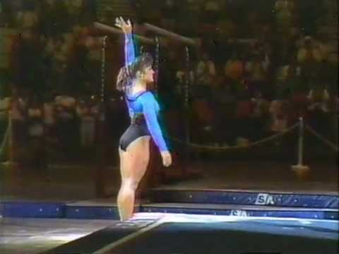 MARY LOU RETTON - EXHIBITION & INTERVIEW & MOMENT WITH OLGA KORBUT - VOB