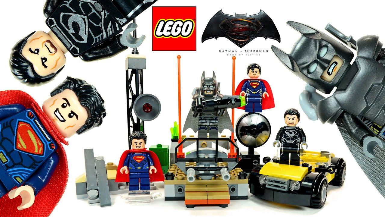 Jouet Lego Super Heroes DC Universe 76002  Superman : Le Combat à Métropolis