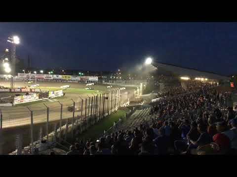 July 12th World of Outlaws A main River Cities Speedway