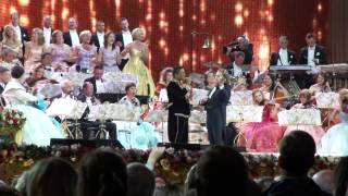 André Rieu Jermaine Jackson When The Rain Begins To Fall Maastricht 12 July 2013