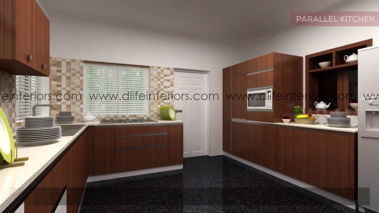 Contemporary Modular Kitchen D Life Home Interiors The Best Interior Designers In Kerala Bangalore Youtube