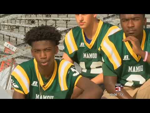 A Mamou high school student's battle off the football field