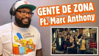 Gente de Zona - La Gozadera ( Official Music Video ) ft. Marc Anthony | REACTION