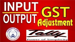 Input output GST Adjustment Entries in Tally ERP-9 Part-31|Tally GST for GST Return Adjustment