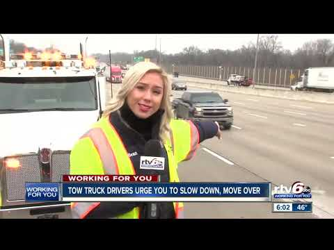 Tow Truck Company Pushes For Better Understanding Of Slow Down/Move Over Law In Indiana