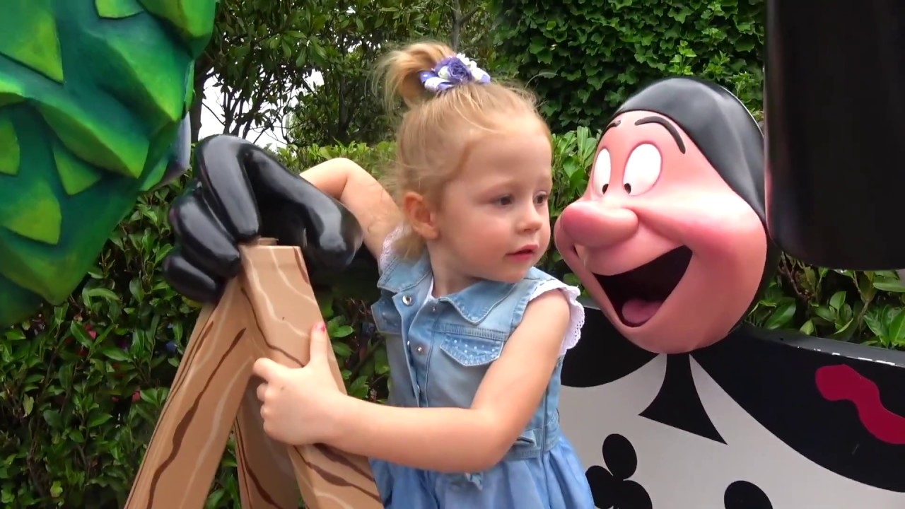 Funny Stacy And Amusement Park For Kids  Intertainment At