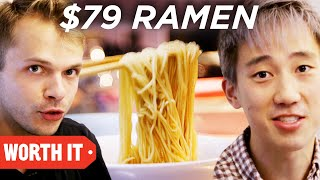 Video $3 Ramen Vs. $79 Ramen • Japan download MP3, 3GP, MP4, WEBM, AVI, FLV Februari 2018