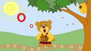 Сказка про букву О-развивающие мультфильмы для самых маленьких-Учим буквы-буква О