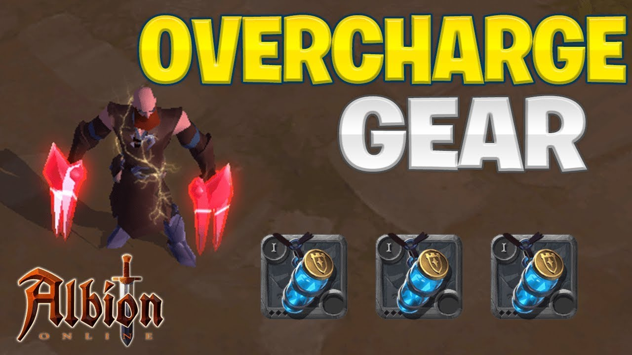 Albion Online | How To Overcharge Your Gear! (Siphoned Energy Guide)