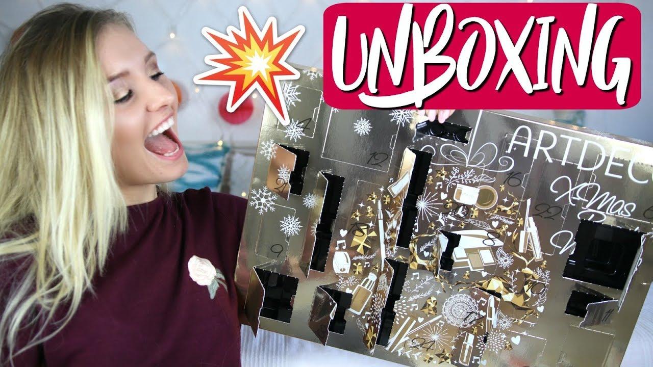 krasser artdeco adventskalender unboxing 49 99 top oder. Black Bedroom Furniture Sets. Home Design Ideas