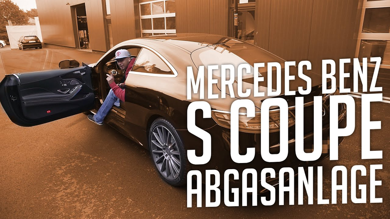 jp performance mercedes benz s coupe abgasanlage youtube. Black Bedroom Furniture Sets. Home Design Ideas
