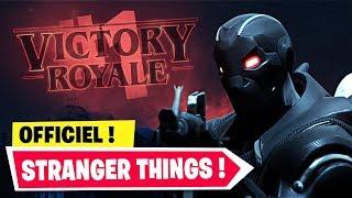 FORTNITE X STRANGER THINGS : NOUVEL EVENEMENT ! + MODE PROP HUNT (OFFICIEL)