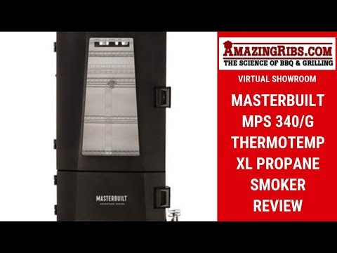 Masterbuilt MPS 340/G ThermoTemp XL Propane Smoker Review