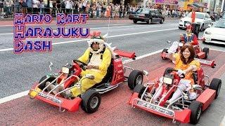 Mario Karts in Real Life & Cosplay in Harajuku thumbnail