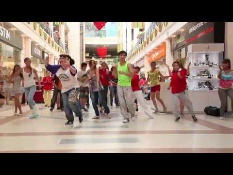 Танцевальный флешмоб в столице г.Пермь