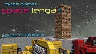 Space Engineers - Space Jenga!