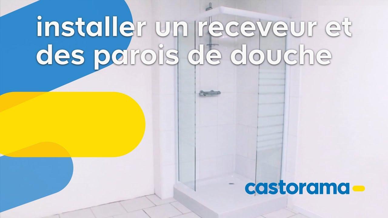 comment poser un receveur de douche