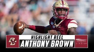 Boston College QB Anthony Brown Highlight Reel - 2019 Season   Stadium