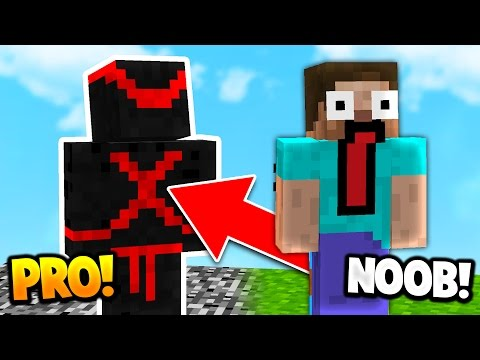 BECOMING A PRO NINJA IN MINECRAFT!