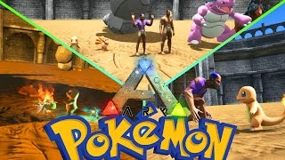 POKEMON en ARK!!! BATALLAS ÉPICAS!!! ARK: Survival Evolved - ARK MODS