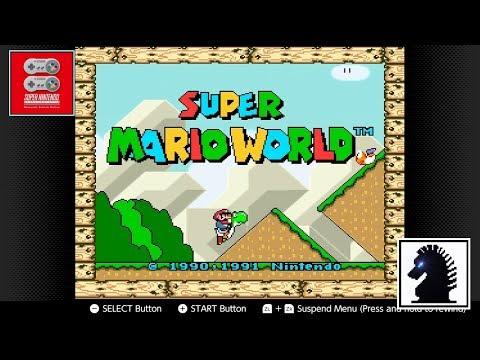 NS Super Nintendo - Nintendo Switch Online - #1: Super Mario World