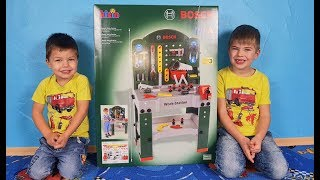 Richard and Rinat open a new set of tools for children