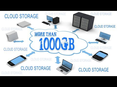 How to get more cloud storage for free 2018