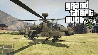 GTA 5 MODS | AH-64D Longbow Apache | Helicóptero Apache