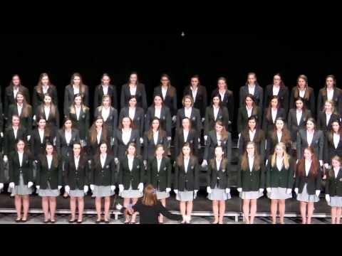 Saint Gertrude High School Song Contest, 2014 - Orange &  Blue