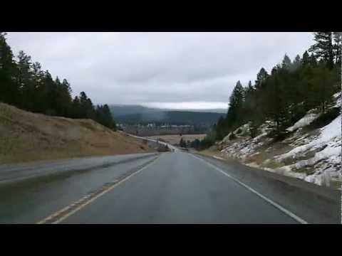 British Columbia 93/95: Cranbrook to Radium Hot Springs Dashcam Drivelapse