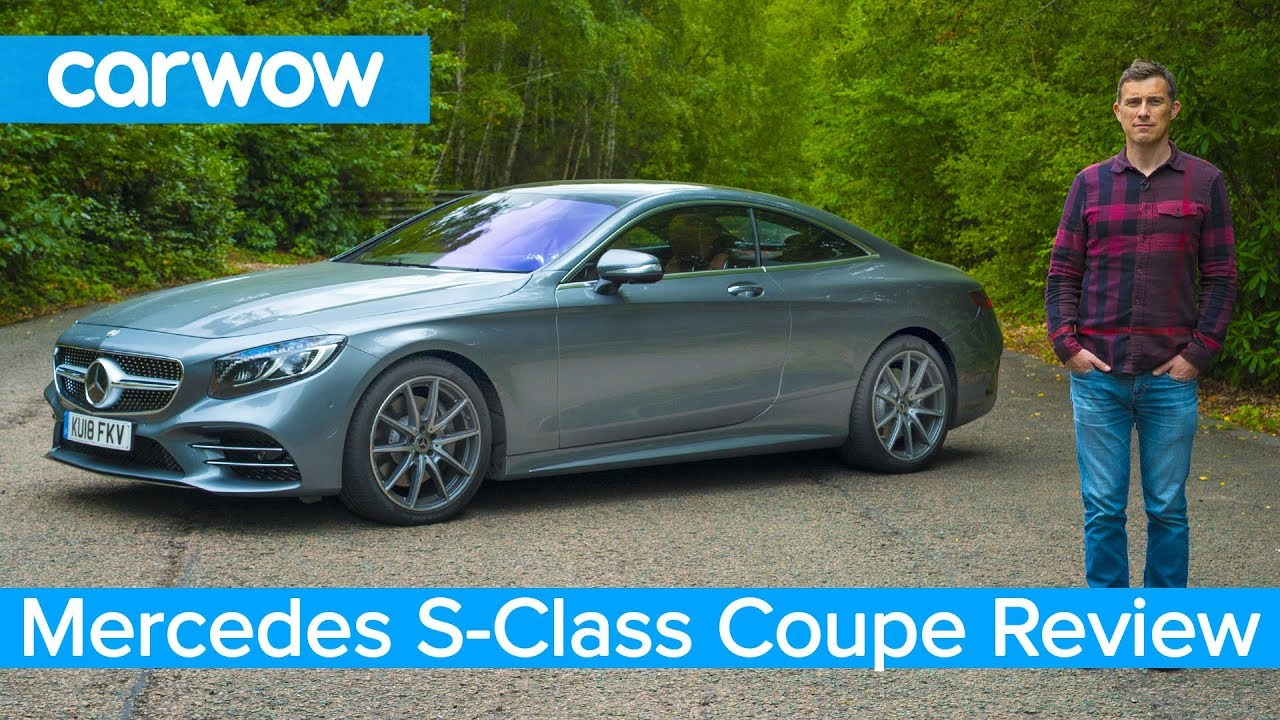 mercedes s-class coupe 2019 in-depth review