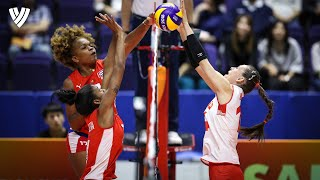Eda Erdem - BEST TURKISH BLOCKER EVER? | Highlights Volleyball World