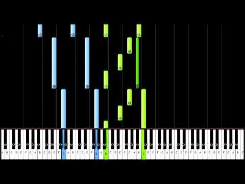 Moonlight Sonata 1st Movement - Beethoven (Piano Tutorial)