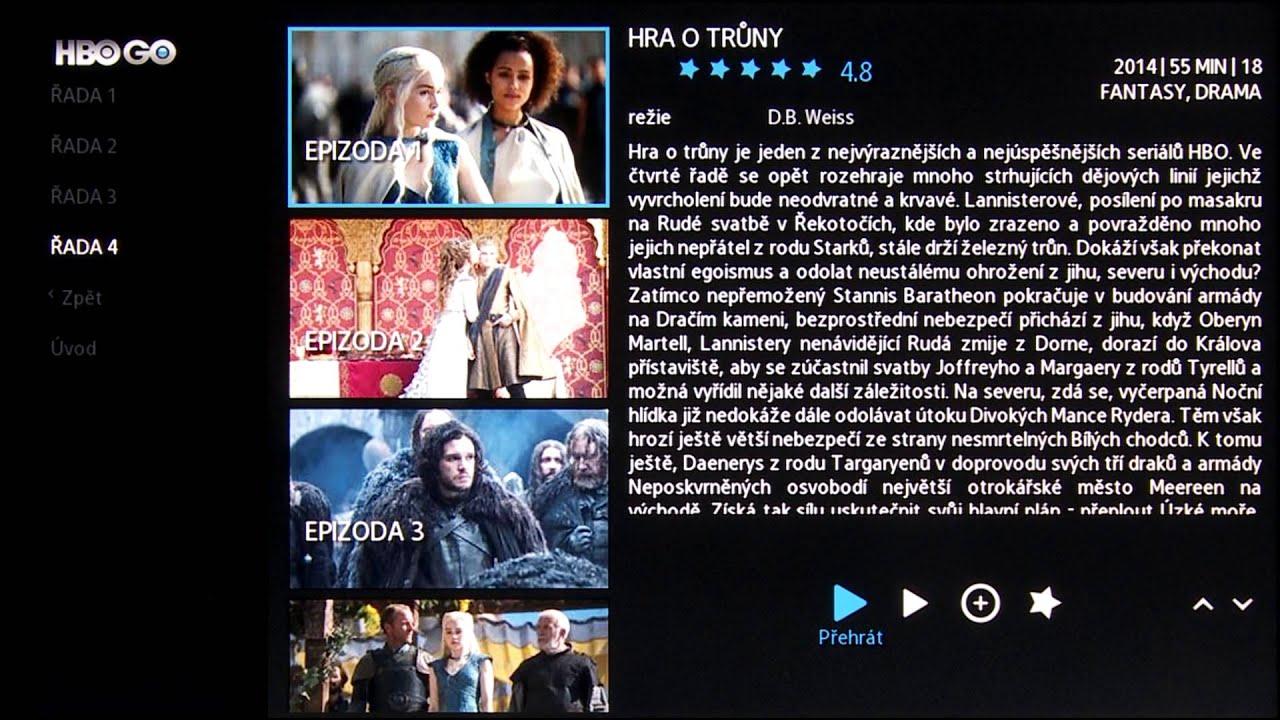 Samsung Smart TV - Videoprůvodce - HBO GO