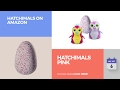 default - Hatchimals Surprise Twin - Puppadee  (Colors/Styles Vary)