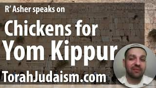 Chickens on Yom Kippur