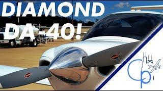 Flight: Trying Out The Diamond DA40!