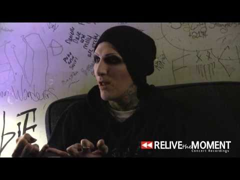 2014.03.10 Interview #3 with Chris from Motionless in White (Live in Bloomington, IL)