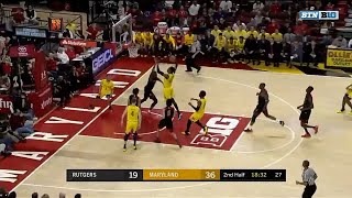 Bruno Fernando Hammers it Again vs. Rutgers