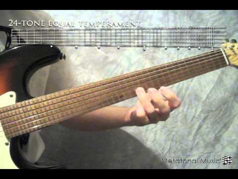 24tone Quartertone  14tone guitar