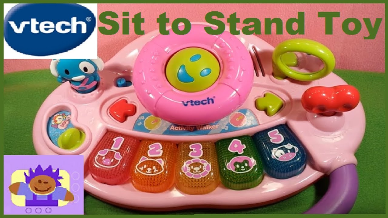 Vtech Sit To Stand Activity Walker Toy For Infants And