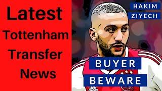Latest Tottenham Transfer News - Hakim Ziyech & Christian Eriksen Spurs Update