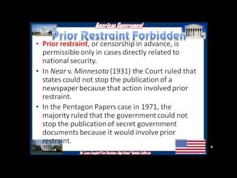 Constitutional Freedoms