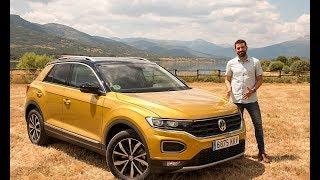Analizamos el T-Roc, el nuevo Crossover de Volkswagen   CAR AND DRIVER FÓRMULA 1 Video